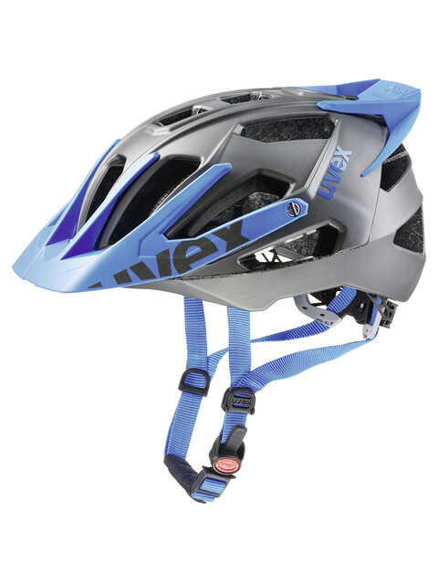 UVEX quatro pro Helmet dark silver-blue mat